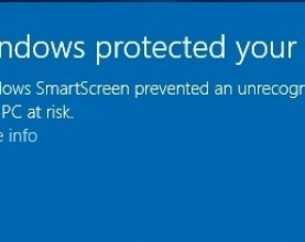 Hướng dẫn sửa lỗi window protected your pc win10